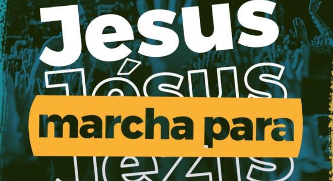 Marcha para Jesus 2018 (Reprodução)
