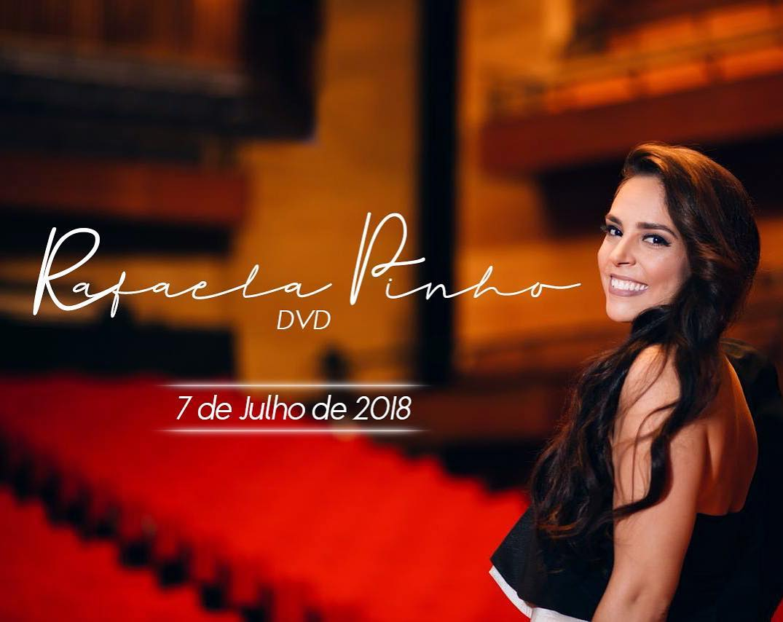 Rafaela Pinho divulga gravação do novo DVD