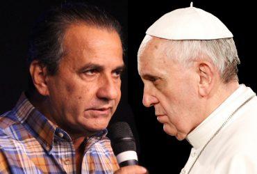 Silas Malafaia e o Papa Francisco (Reprodução)