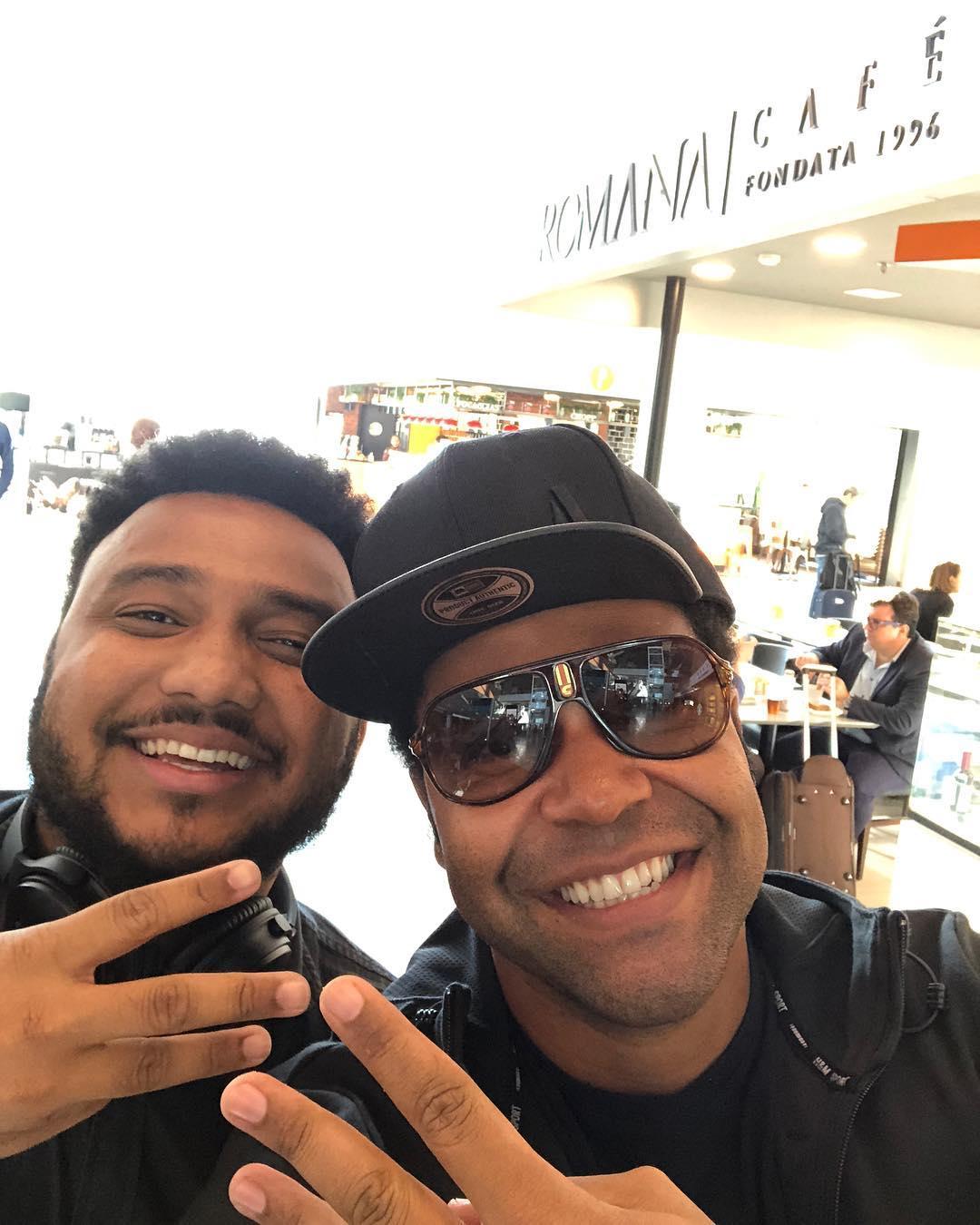 Eli Soares e Thalles Roberto.
