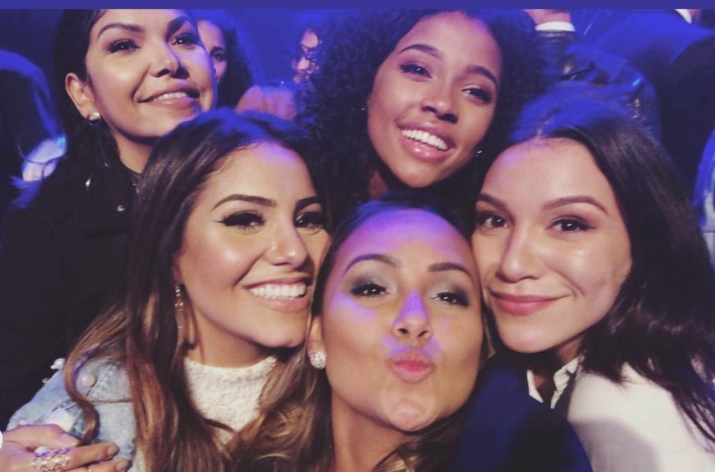 Gabriela Rocha, Bruna Karla e amigas (Reprodução)