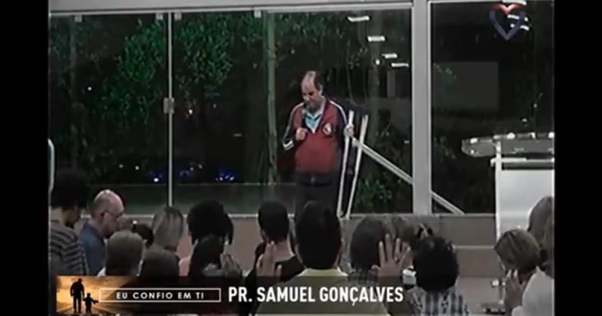 Pastor Samuel Gonçalves (reprodução)