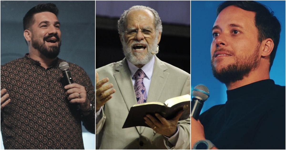 Pastores Felipe, Marcio e André Valadão (Reprodução:Instagram)