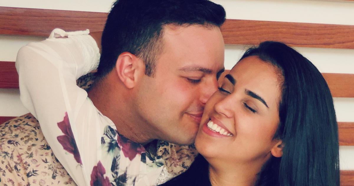 Camila Barros e o esposo (Reprodução:Instagram)