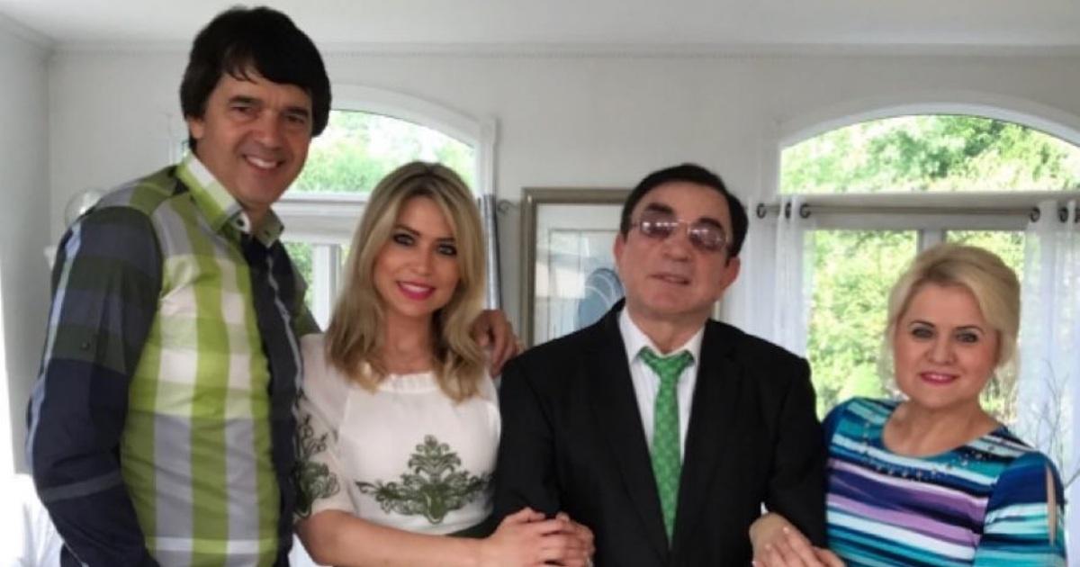 Elaine de Jesus e família