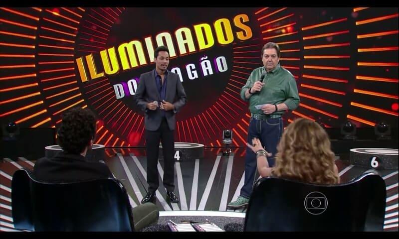 Kiell Cavalcanti na Globo (Reprodução)