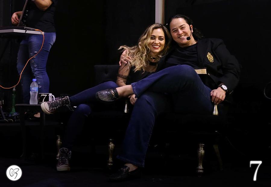 Lanna Holder e Rosania Rocha (Reprodução Instagram)