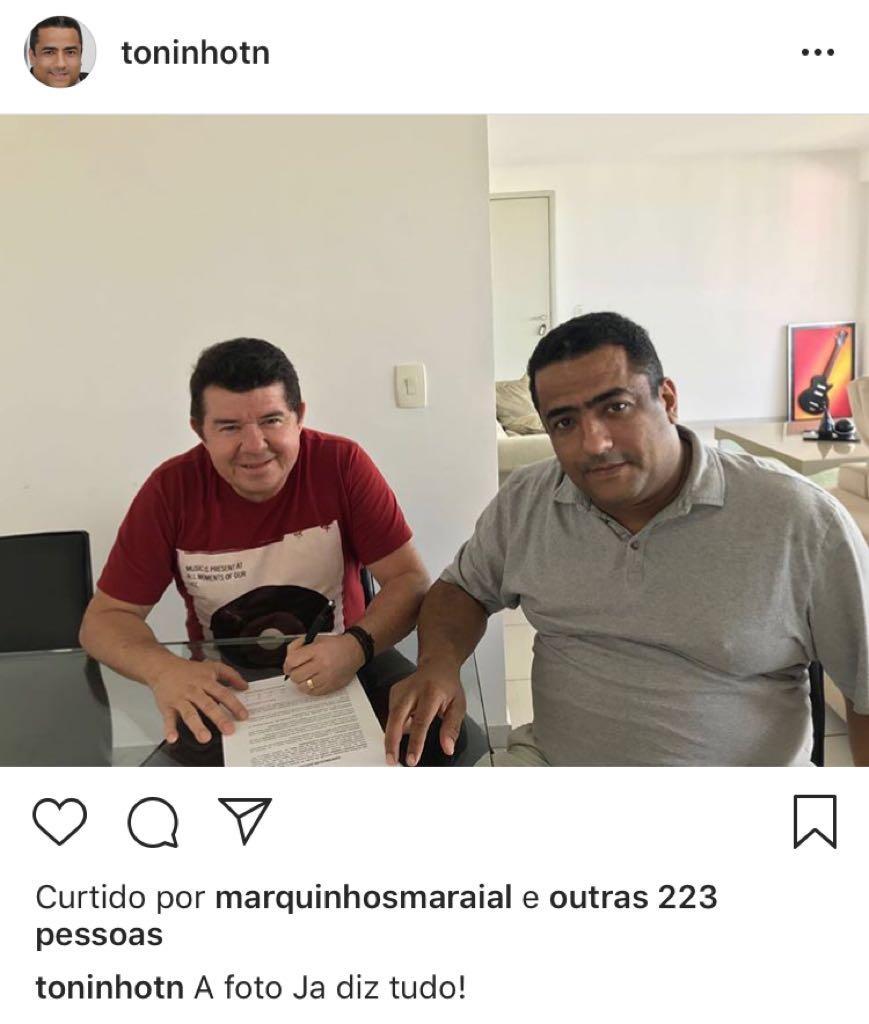 Marquinhos Maraial abandona a musica gospel