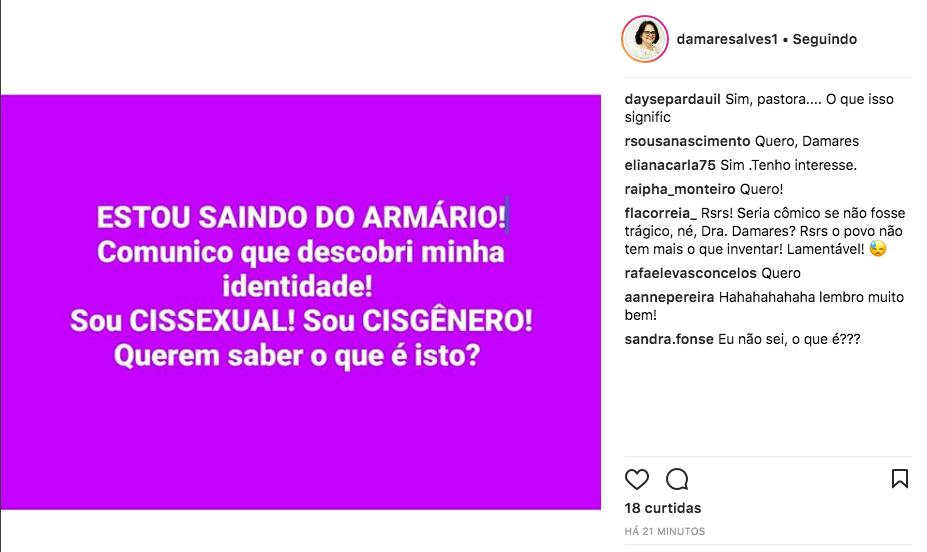 Pastora Damares Alves