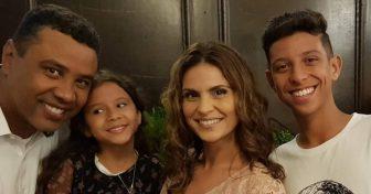 Gilmar, Maria, Aline e Nicolas ( Reprodução Instagram)
