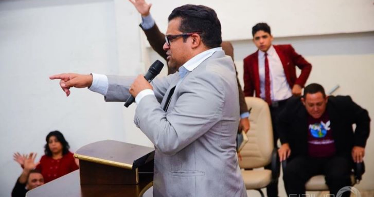 Pastor Marcinho (Créditos : Rose Alves)