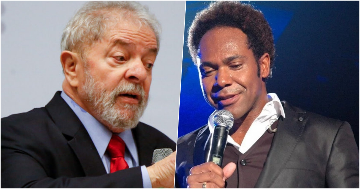 Lula e Thalles Roberto