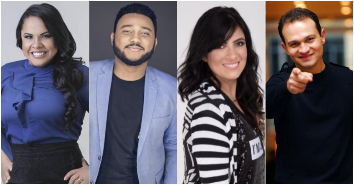 Cassiane, Eli Soares, Fernanda Brum, Davi Sacer (Reprodução Internet)