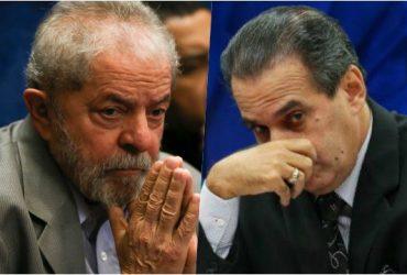 Ex-presidente Lula e pastor Silas Malafaia