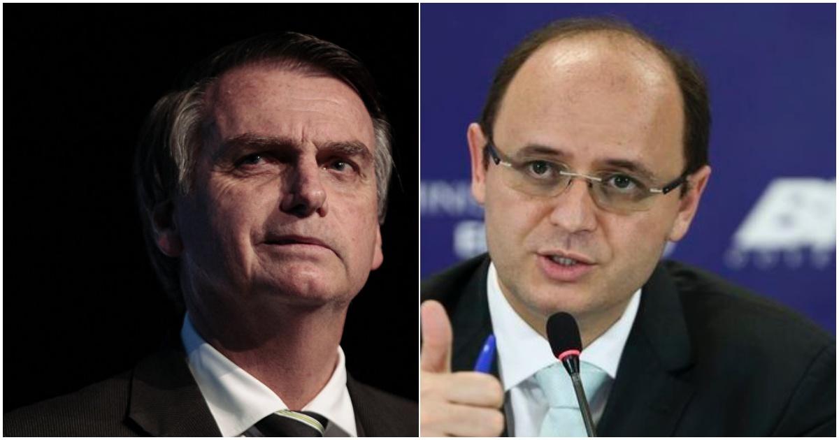 Jair Bolsonaro e André Luiz (Reprodução Internet)