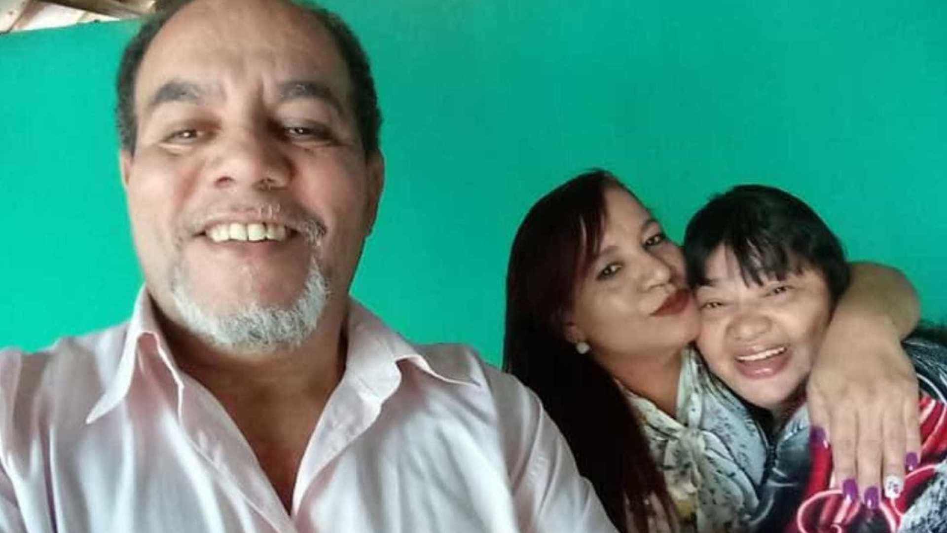 João Batista Gomes, a sobrinha Irene Lúcia Gomes e a esposa dele, Sueli Pereira de Matos Gomes (Reprodução G1)