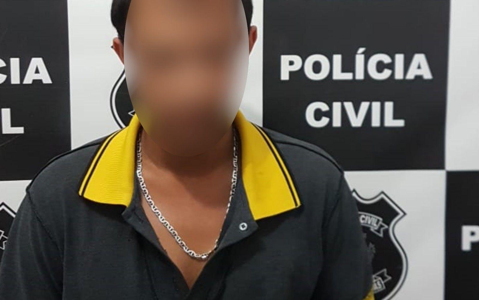 Suspeito pelo estupro (Divulgação Polícia Civil)