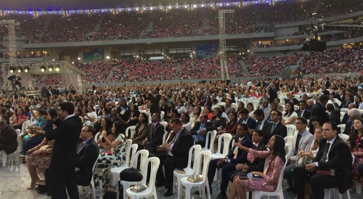 Celebração do Centenário da Assembleia de Deus em Pernambuco (Reprodução Instagram)