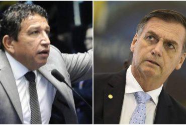 Magno Malta e Jair Bolsonaro