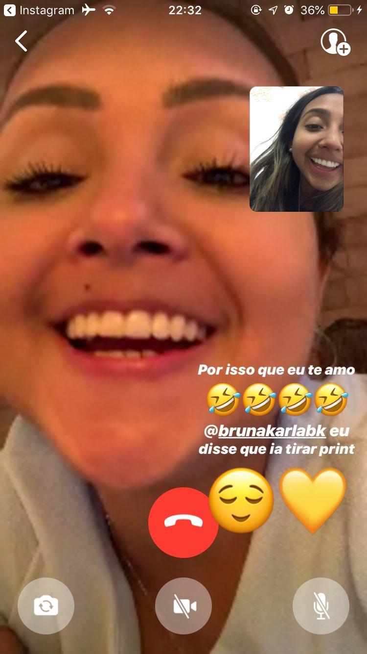 Post da irmã da cantora gospel Bruna Karla
