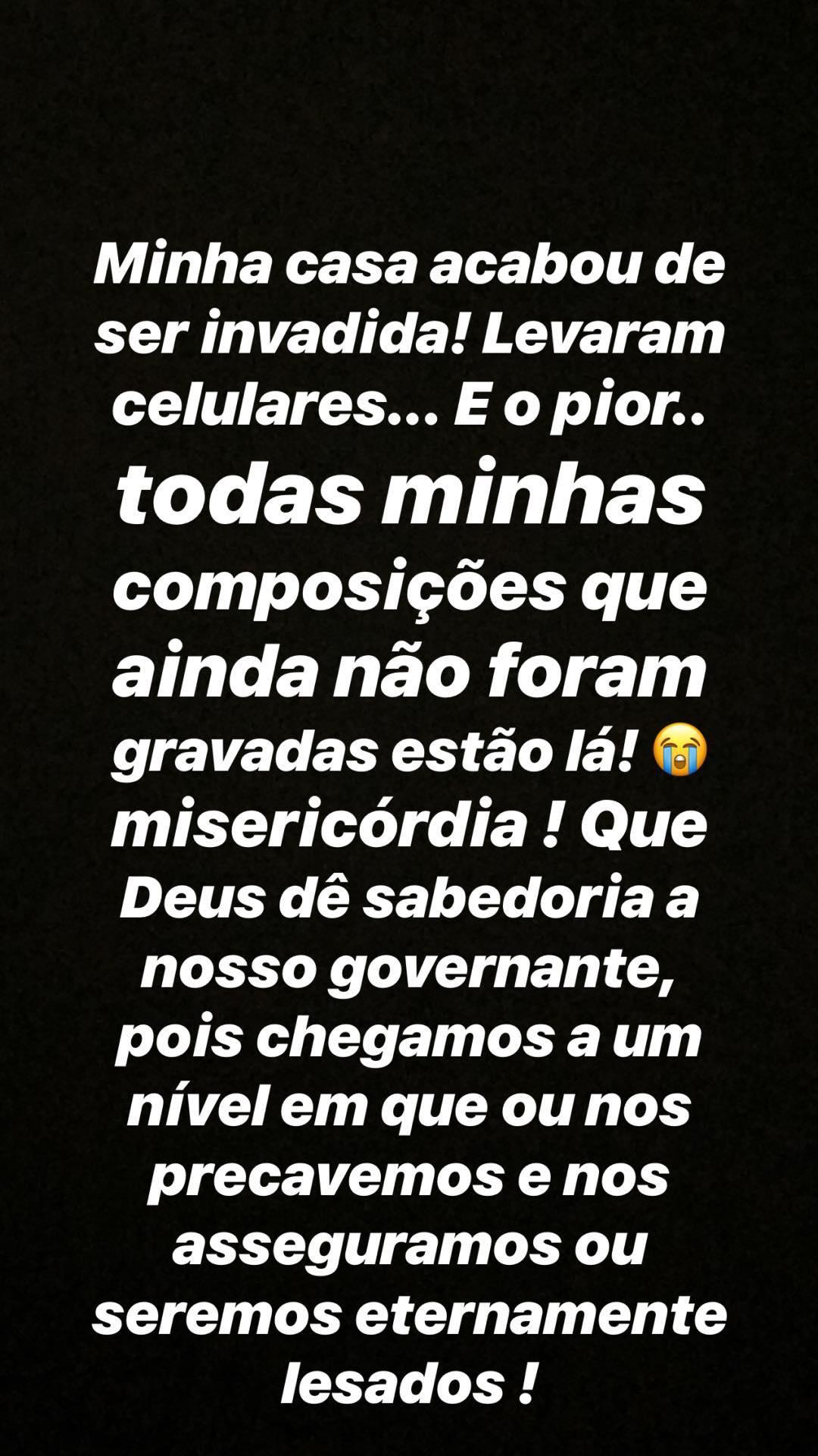 Post de Kemilly Santos no instagram