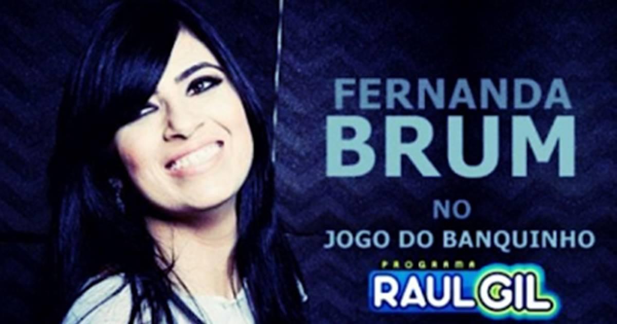 Fernanda Brum e PG
