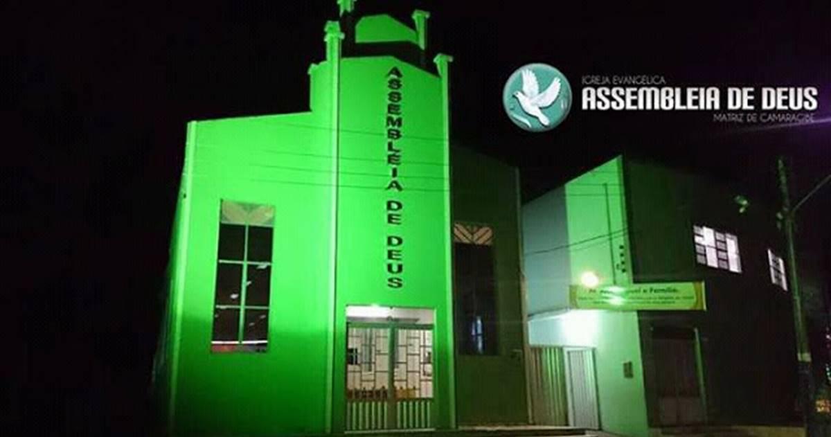 Templo sede da Igreja Assembleia de Deus em Matriz do Camaragibe
