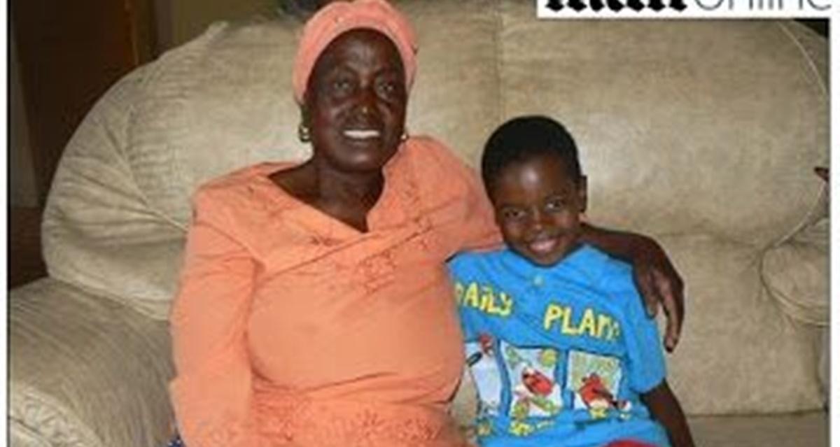 Menino de 8 anos casado com mulher de 61