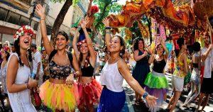 Blocos carnavalescos nas congregações (REPRODUÇÃO)