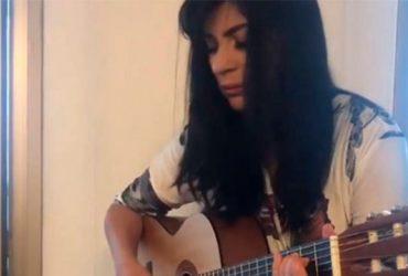 Fernanda Brum lança novo single com seu afilhado (REPRODUÇÃO)