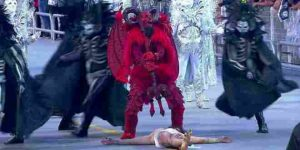 Diabo vencendo Jesus