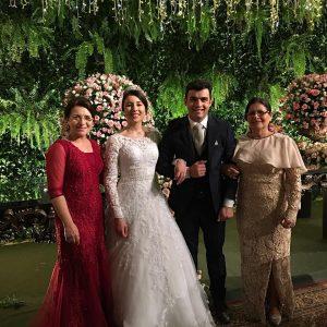 Casamento do filho da cantora Eliã Oliveira (Reprodução)