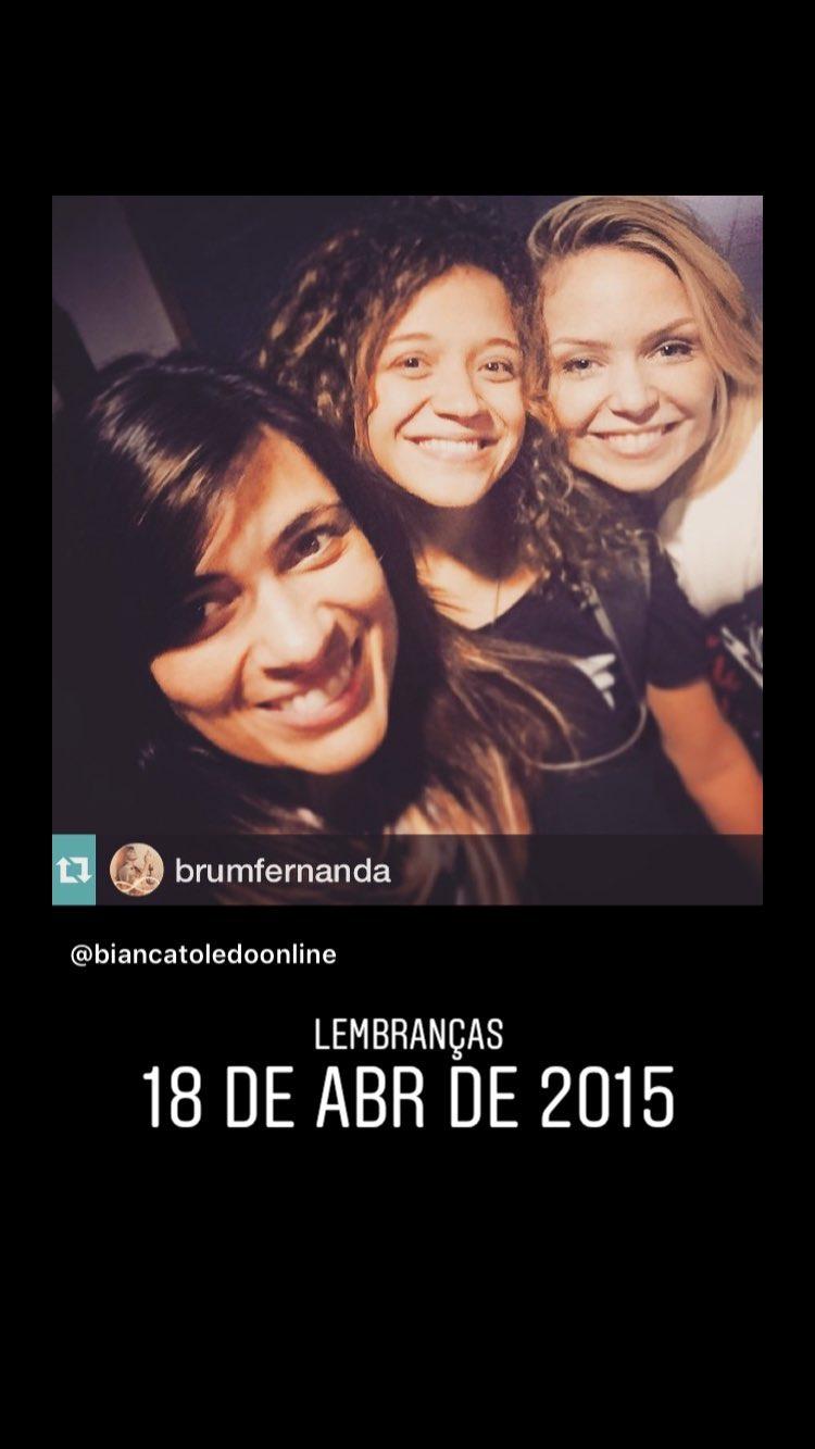 Bianca Toledo, Fernanda Brum e Arianne