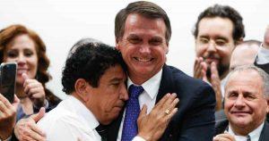 Jair Bolsonaro e Magno Malta