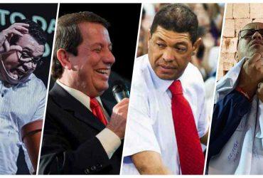 Pastor Jackson Antonio, RR Soares, Valdemiro Santiago e Gilson Matias