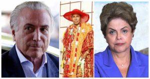 Temer, Bita do Barão e Dilma