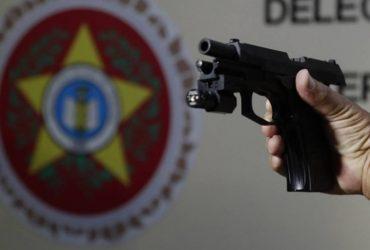 Arma que matou o pastor Anderson do Carmo (Crédito: Gilvan de Souza)