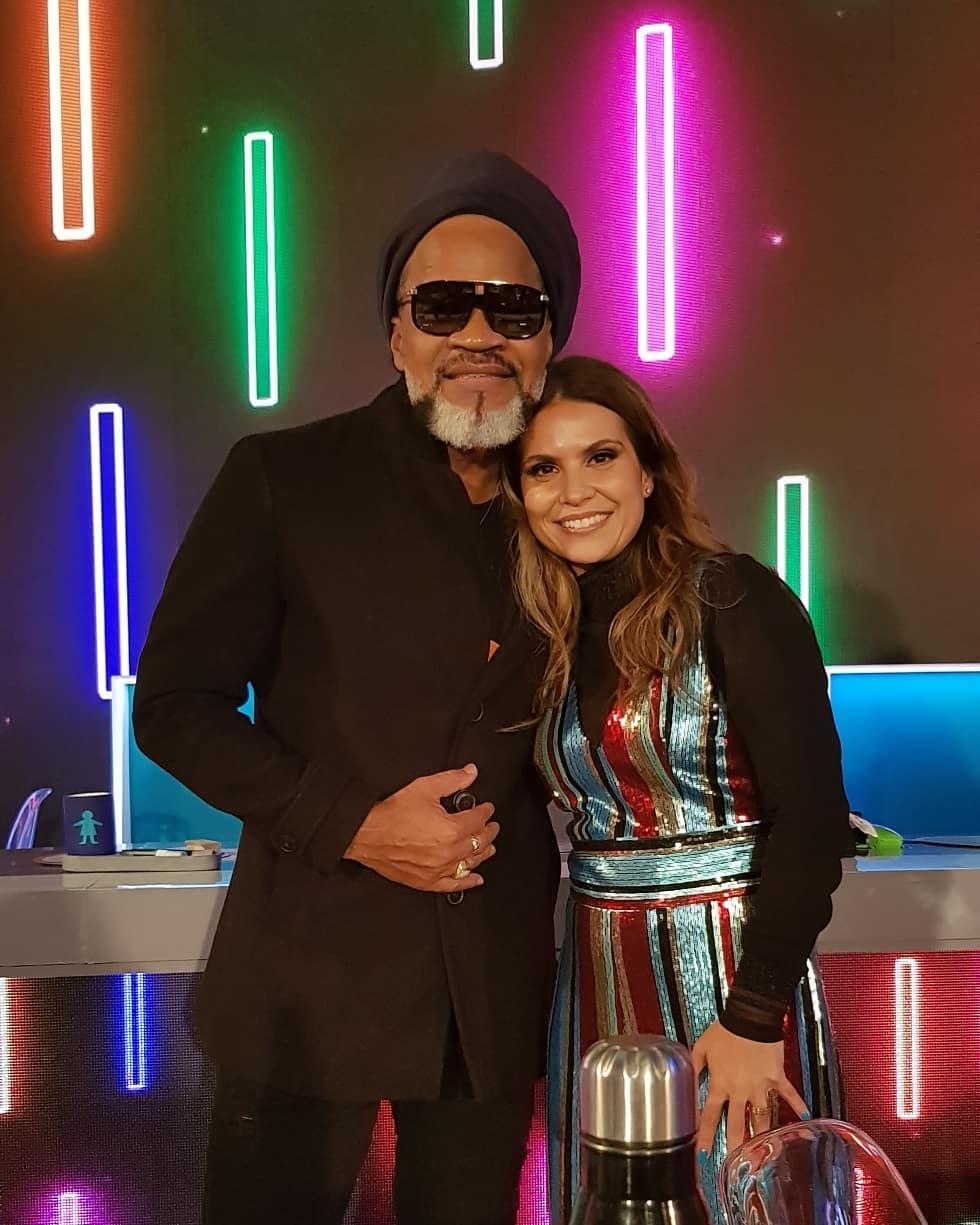 Aline Barros e Carlinhos Brown