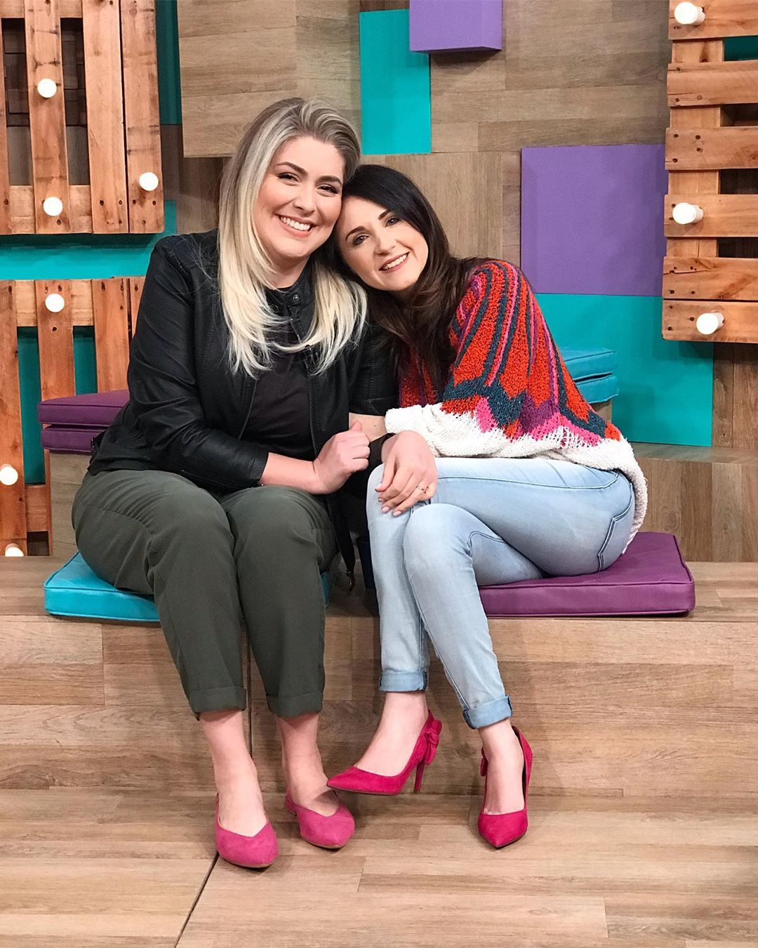 Ana Lima e Glauce Cunha