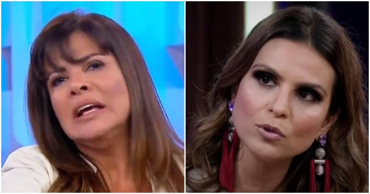 Mara Maravilha e Aline Barros (Reprodução)