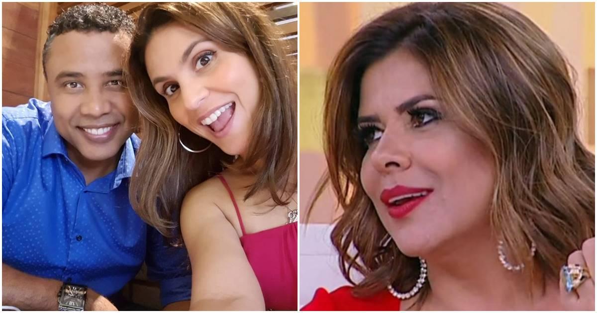 Mara Maravilha, Aline Barros e Gilmar Santos