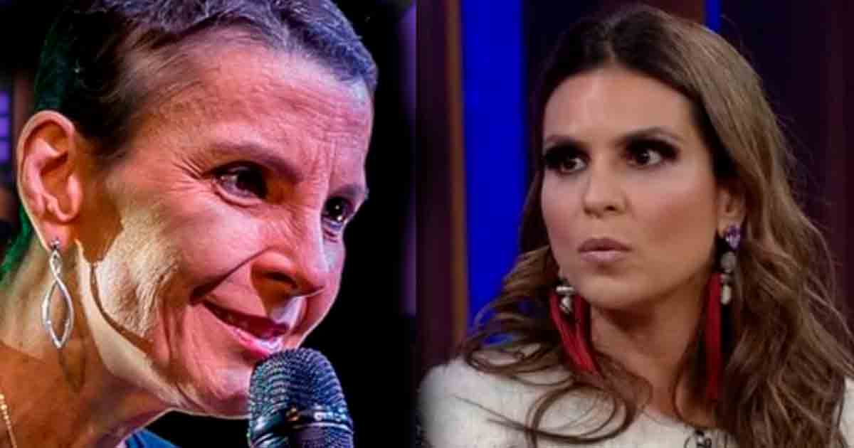 Pastora Ludmila Ferber e cantora gospel Aline Barros