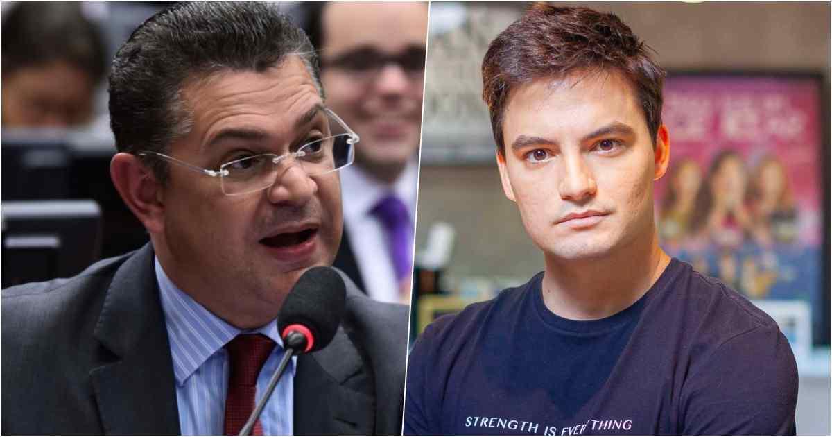 Sostenes Cavalcante e Felipe Neto