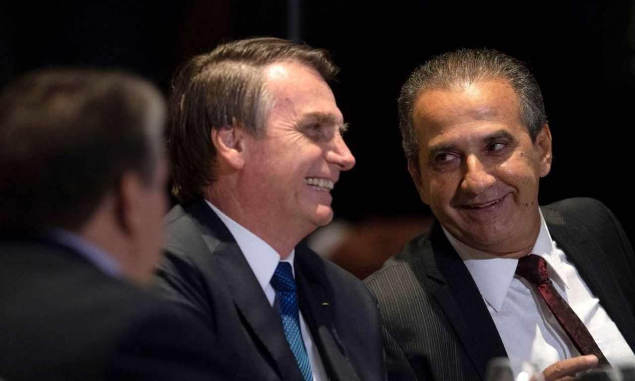 Bolsonaro e Silas Malafaia