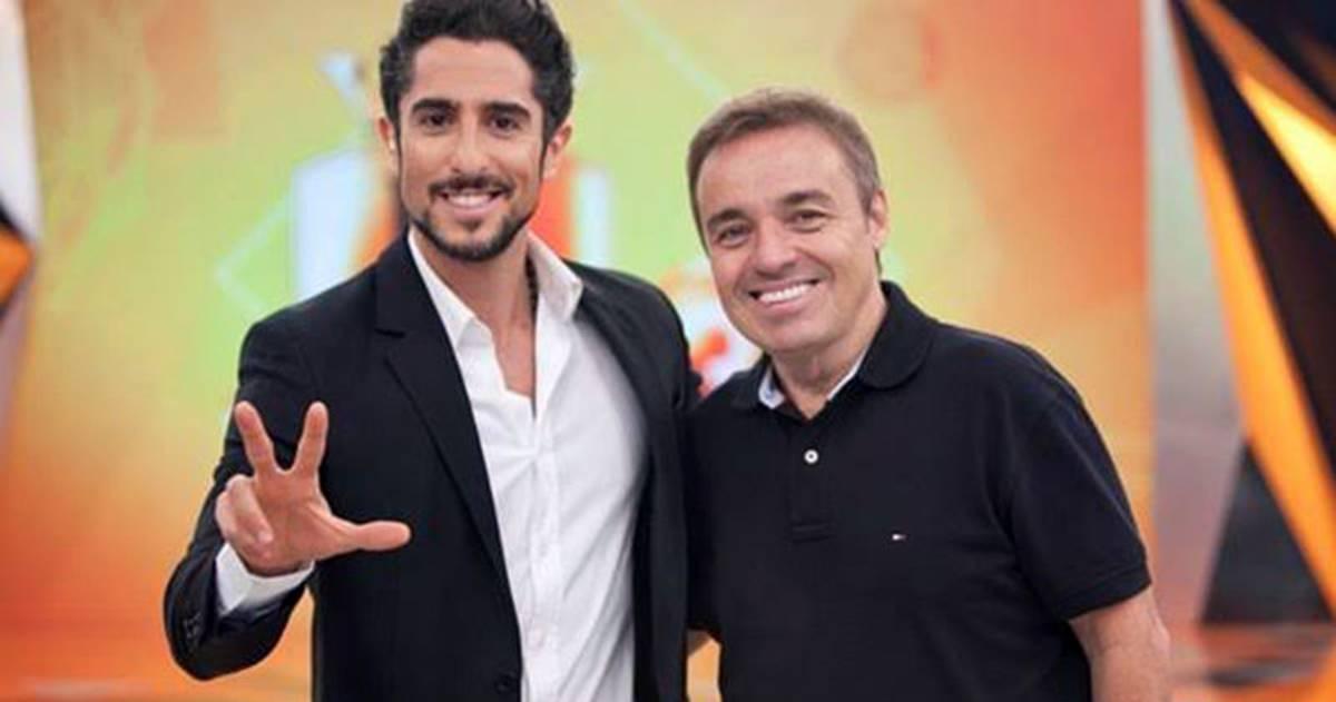 Marcos Mion e Gugu (Reprodução)