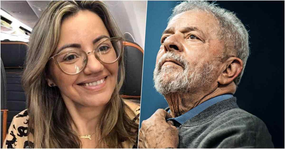 Pastora Juliana Floriano e Lula