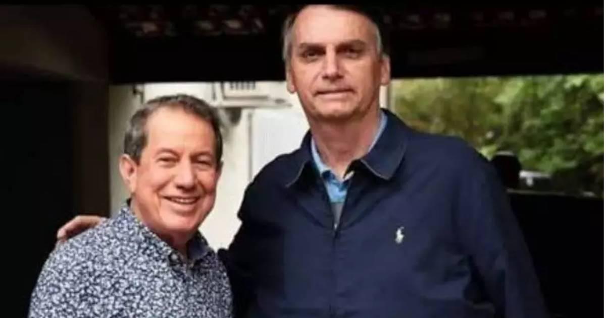 R.R Soares e Jair Bolsonaro (Reprodução)