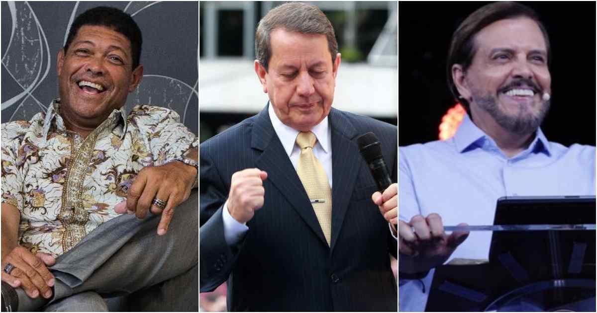 Valdemiro Santiago, R.R Soares e Estevam Dias Lopes