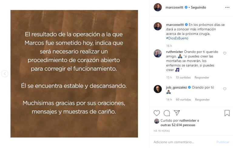 Print Instagram Marcos WittPrint Instagram Marcos Witt