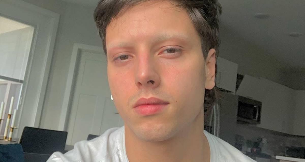 Lucas Oliveira, filho de Eyshila (Reprodução)